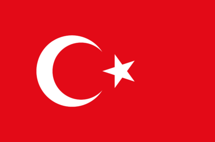National flag for Turkey