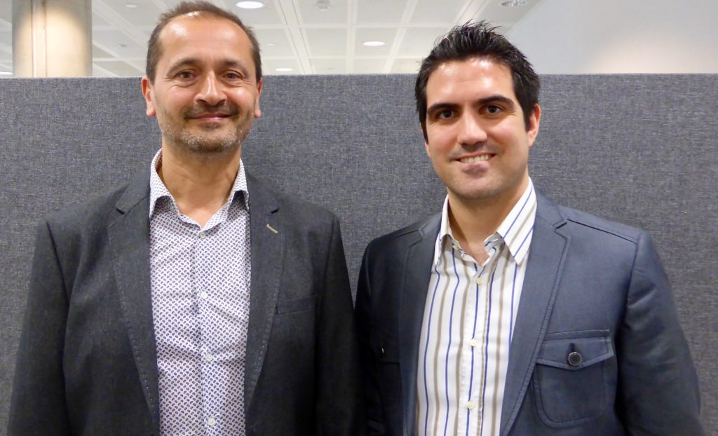Ray Algar of Oxygen Consulting and Utku Toprakseven of 4 global